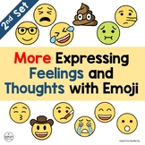 Emoji - More Expressing Feelings and Thoughts with Emojis (Set 2)