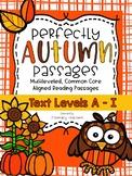 More Fall Passages: CCSS Aligned Leveled Passages & Activi