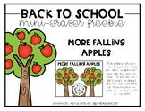 More Falling Apples Mini-Eraser Freebie