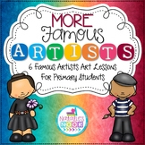More Famous Artists {6 Famous Artists Art Lessons}