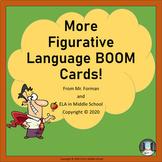 More Figurative Language BOOM! Cards