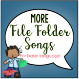 More File Folder Songs for Basic Language