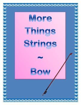 More Things Strings