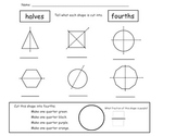 More Fraction Worksheets