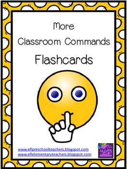 More Free Classroom Commands Flashcards