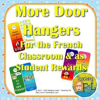 More French Door Knob Hangers