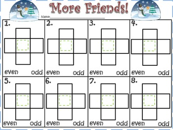 More Friends (Mentally Add 1 & 10 More/Less)