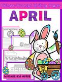 picture prompts April