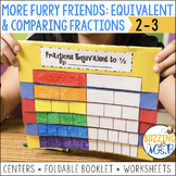 Equivalent and Comparing Fractions Centers and Activities