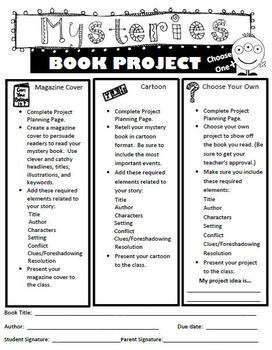 More Genre Book Projects