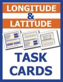 More Google Earth Task Cards - Longitude & Latitude