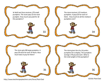 More Halloween Multiplication