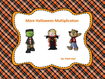 More Halloween Multiplication