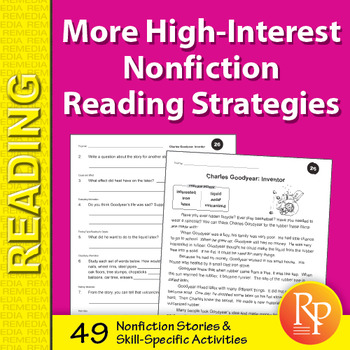 More High-Interest Nonfiction Reading Strategies