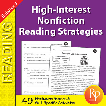 High-Interest Nonfiction Reading Strategies - Enhanced