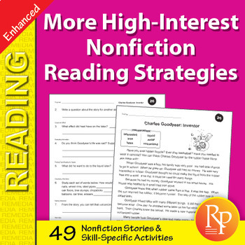 More High-Interest Nonfiction Reading Strategies - Enhanced