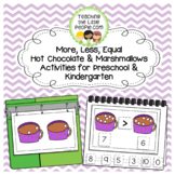 More, Less & Equal:  Hot Chocolate/Marshmallow Activities
