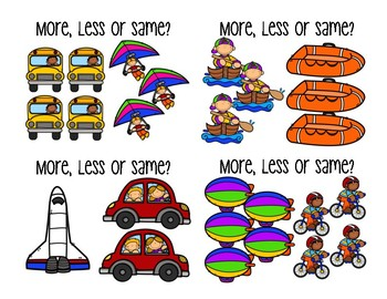 More, Less, Same - Transportation
