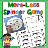 More-Less Number Spinner