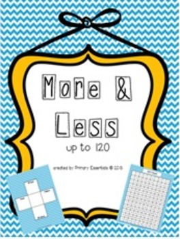 More & Less Up to 120 Freebie