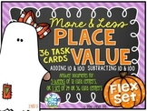 More & Less by 10 & 100 Place Value Task Cards Flex Set 2.NBT.8
