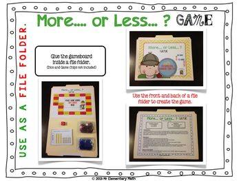 Number Sense Game (More, Less & In Between)