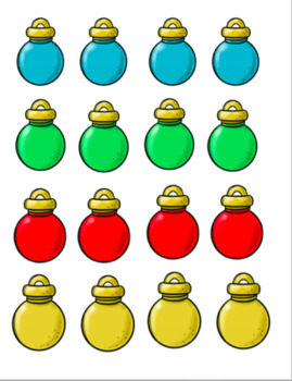 More, Less or Equal Christmas Set