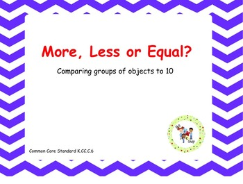 More Less or Equal? SmartBoard Activity