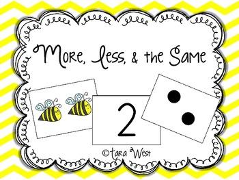 More, Less, & the Same FREEBIE