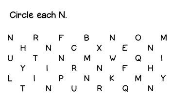 More Letters, Letters Set 2 (N-Z)