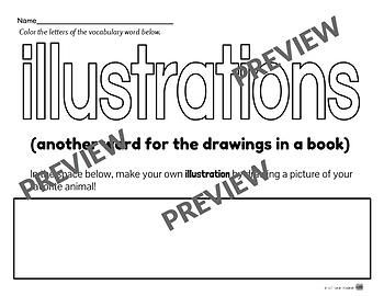 More Library Skills Printable Worksheets for Kindergarten and First Grade