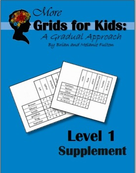 More Logic Grids for Kids:  Level 1