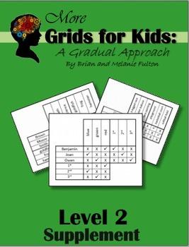 More Logic Grids for Kids:  Level 2