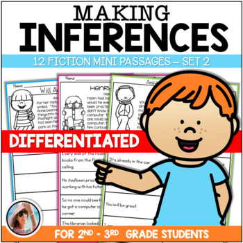 Making Inferences Reading Passages - Fiction