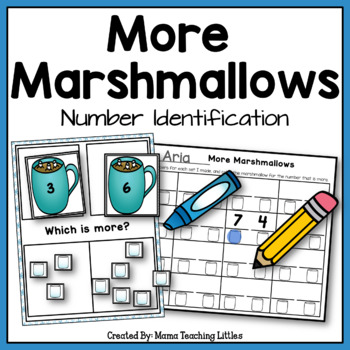 More Marshmallows - Number Identification