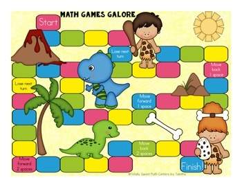 More Math Games Galore Gr. 2 seven board games, five 2nd grade math concepts!