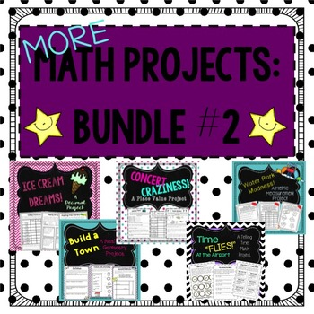 Math Projects (Bundle 2)