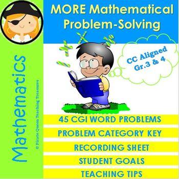 More Mathematical Problem-Solving: CGI Designed Problems Part II