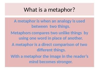 More Metaphors