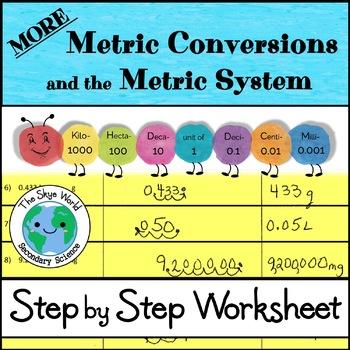 More Metric Conversions