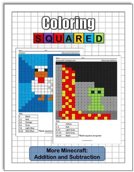 More Minecraft: Addition and Subtraction