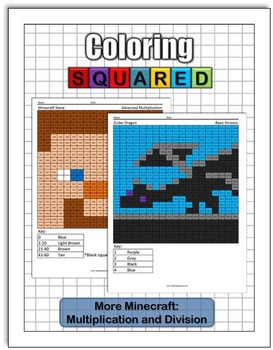 More Minecraft: Multiplication and Division