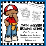 More Missing Number Grids! - Numbers up to 1000