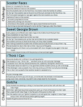 """Part 2 - More """"Mix and Match"""" Lessons Plans for Elementary Physical Education"""