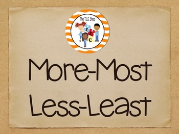 More-Most-Less-Least Bundle