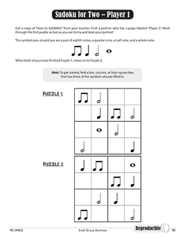 More Music Activities for Small Groups