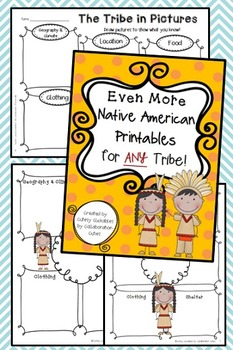 More Native American Printables for ANY Tribe { With Editable Pages}