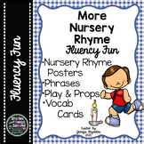 More Nursery Rhyme Reading Fluency Fun-Mother Goose Activities