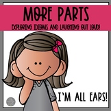 More Parts a Book Companion for Teaching Idioms with Cards and Puzzles
