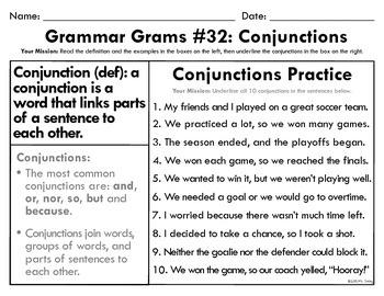 Grammar Grams (31-40): More Parts of Speech